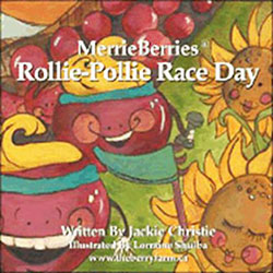 Merrie berries rollie pollie race day