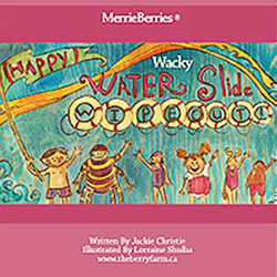 Merrie berries wacky water slide